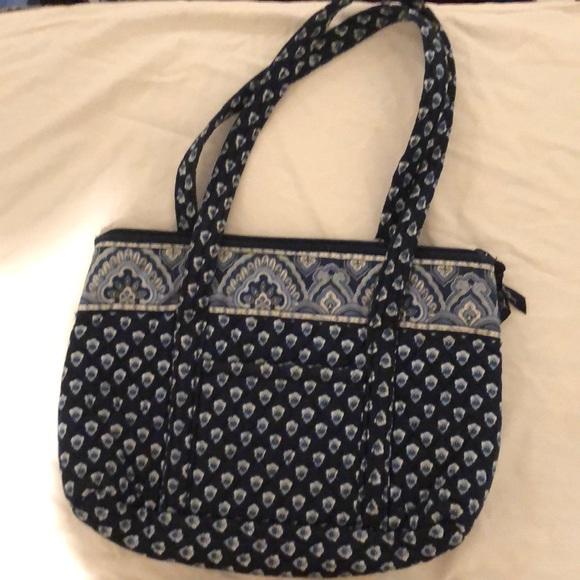 Vera Bradley Nantucket Navy Betsy handbag 82796faa2cd78